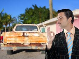 Sprzedawca używanych aut