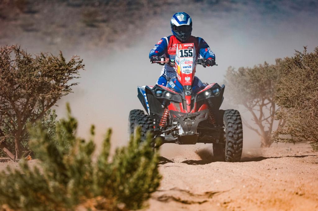 Kamil Wiśniewski quad Yamaha Dakar 2021