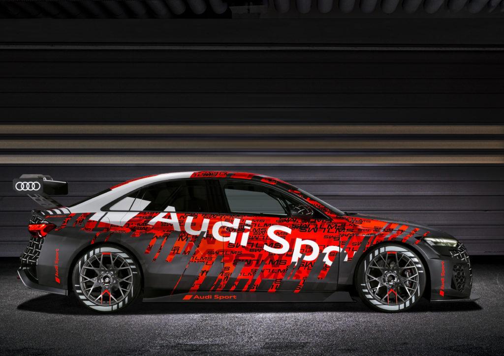 Audi RS 3 LMS 2021 (fot. Audi)