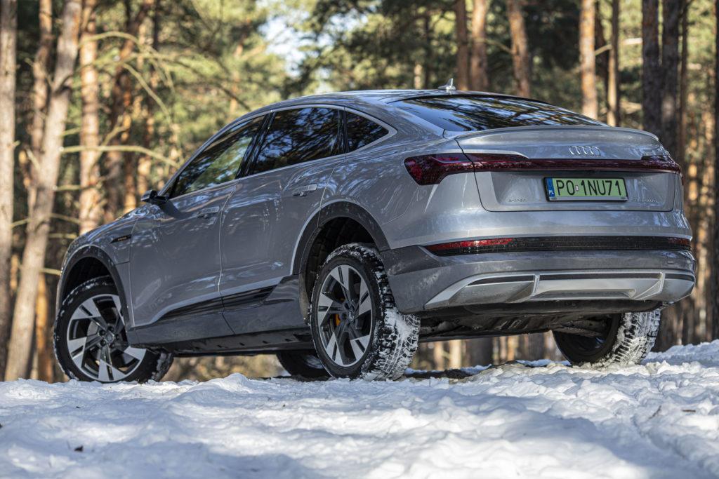 Audi e-tron Sportback teren