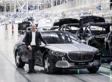 Jubileuszowe 50-milionowe auto niemieckiej marki (fot. Mercedes-Benz)