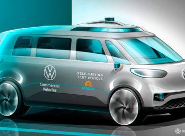 Autonomiczny VW ID. BUZZ