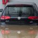 Auto i powódź