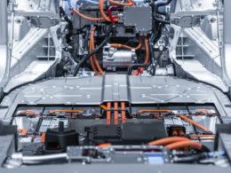 Akumulator litowo-jonowy samochodu elektrycznego