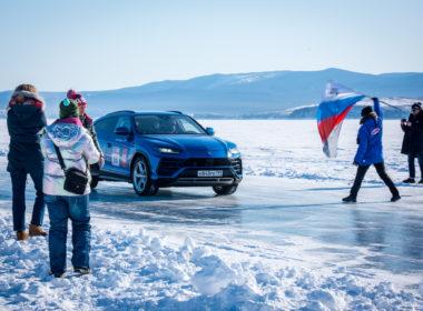 Bicie rekordu prędkości na lodzie