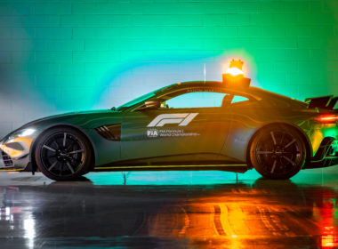 Aston Martin Vantage Official Safety Car of Formula One (fot. AM)