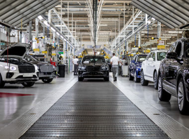 Zakład Bentleya w Crewe