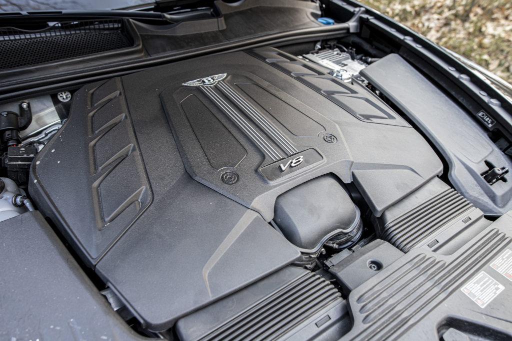 silnik V8 Bentayga
