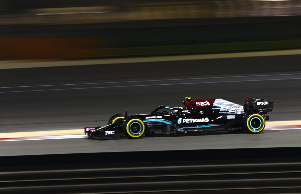 Formula One - Mercedes-AMG Petronas Motorsport, Bahrain GP 2021.Valtteri Bottas