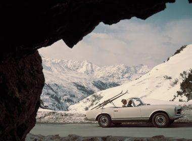 """Mercedes-Benz SL """"Pagoda"""" W 113 (fot. MB)"""