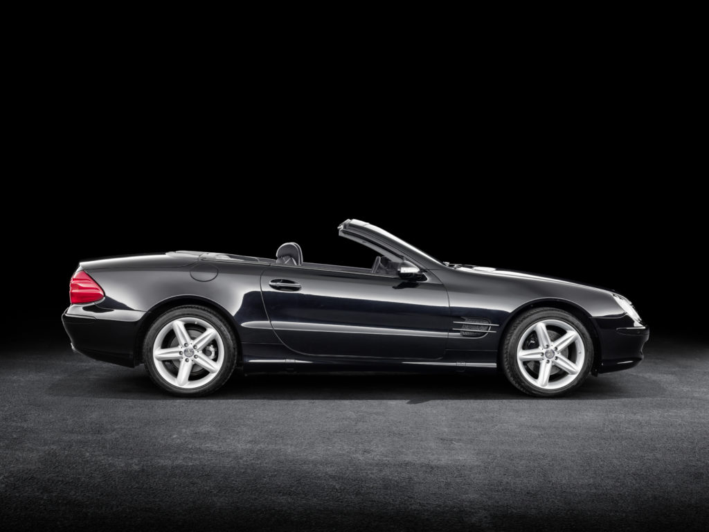 Mercedes-Benz SL R 230 (fot. MB)