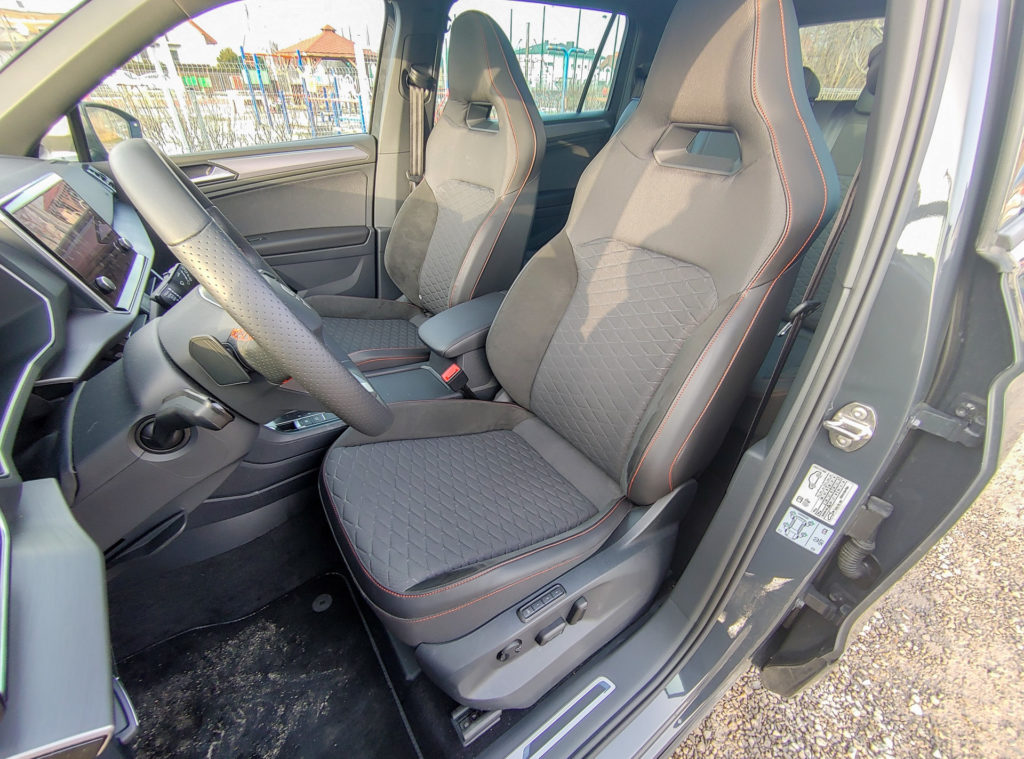 Seat Tarraco FR - wnętrze