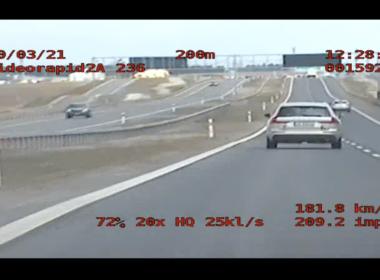 Nagranie speed (fot. Policja)