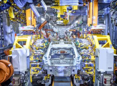 Produkcja Audi Q4 e-tron (fot. Audi)