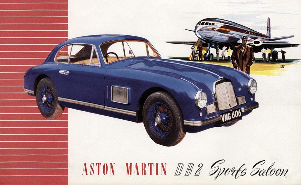 Aston Martin DB2 Sports Saloon