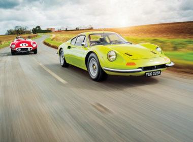 Klasyczne Ferrari (fot. Ferrari)