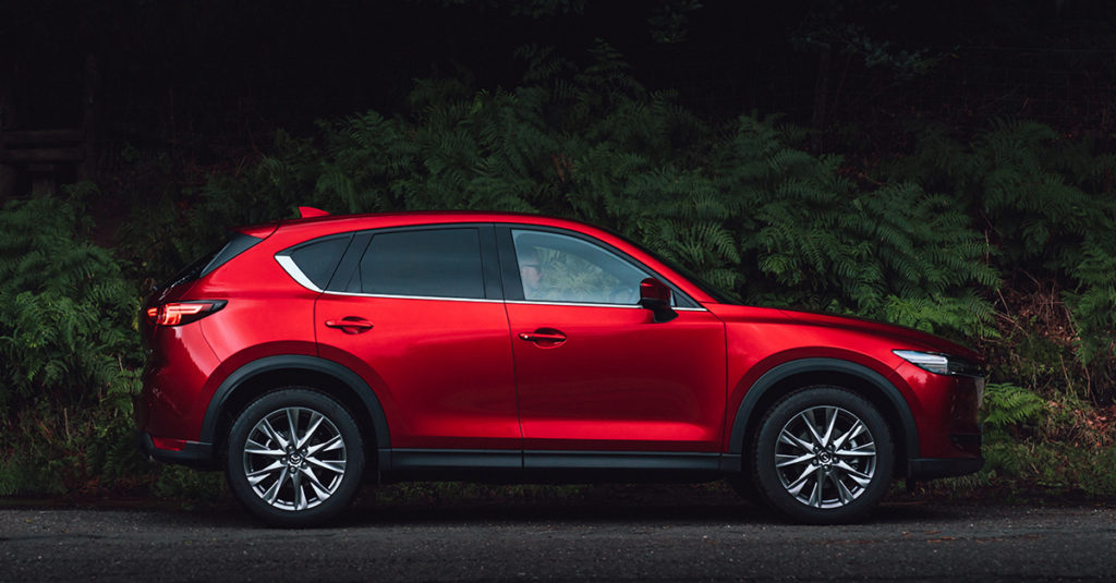 prześwit Mazda CX-5