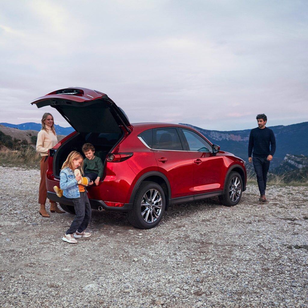 bagażnik Mazda CX-5