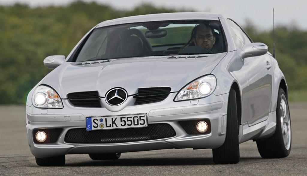 nadwozie Mercedes SLK