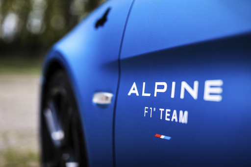 ALPINE A110 TRACKSIDE (fot. ALPINE)