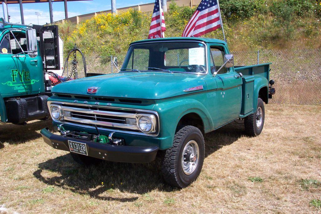 Ford F z 1962 roku