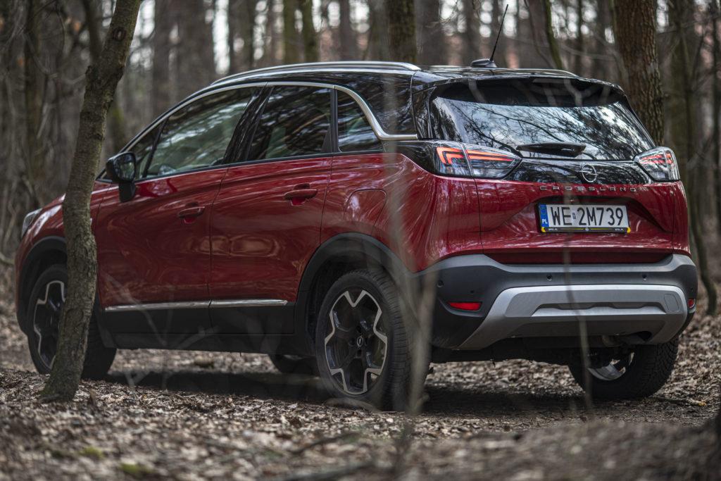 cena Opel Crossland