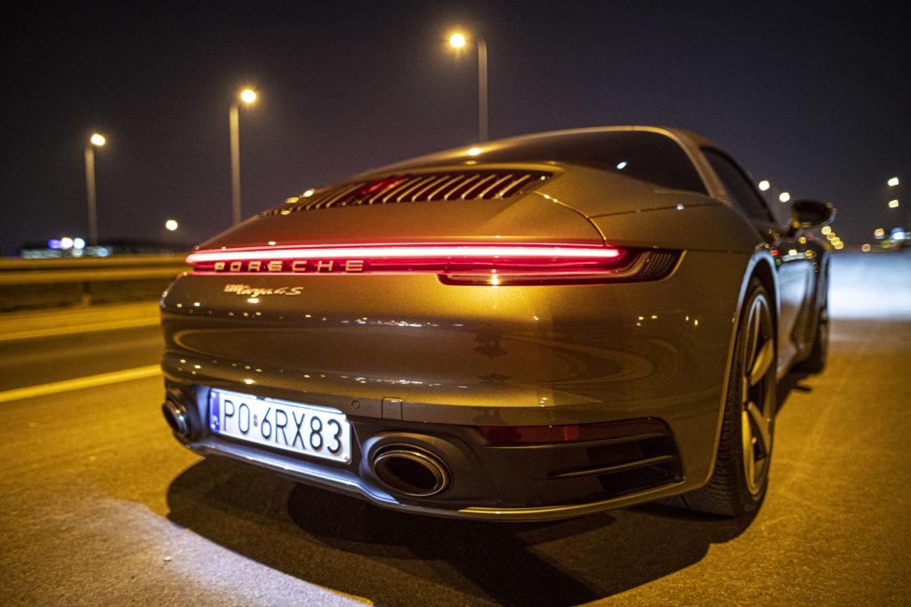 prowadzenie Porsche 911