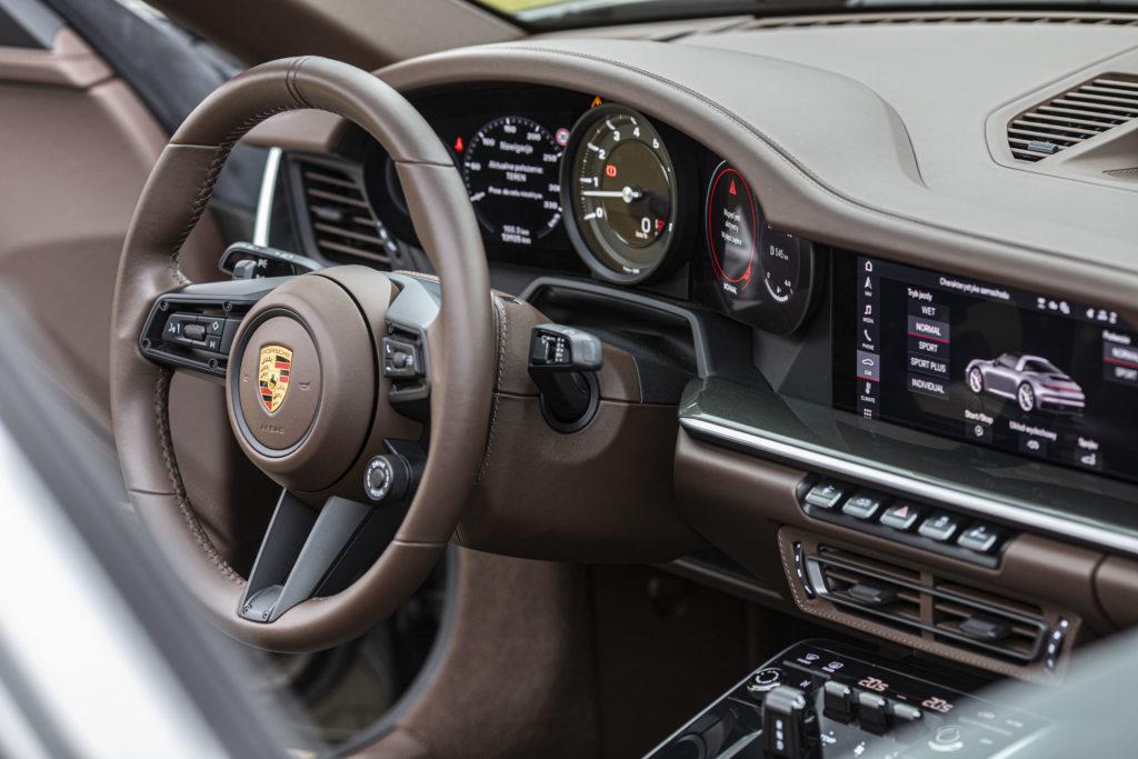 deska rozdzielcza Porsche