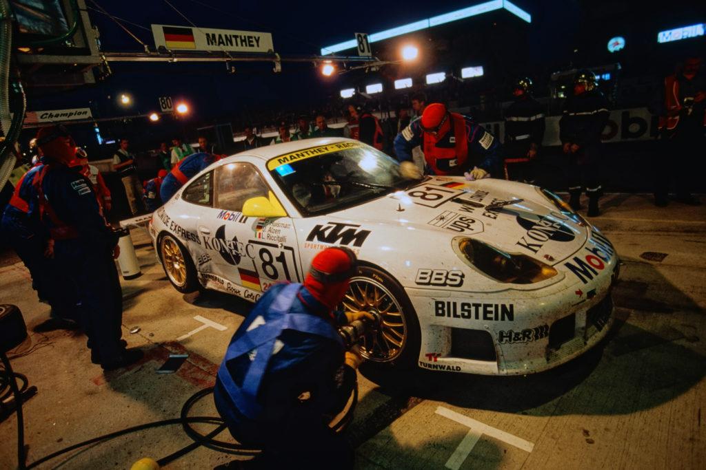 Porsche 911 GT3-R (993), 24h Le Mans (1999) (fot. Porsche)
