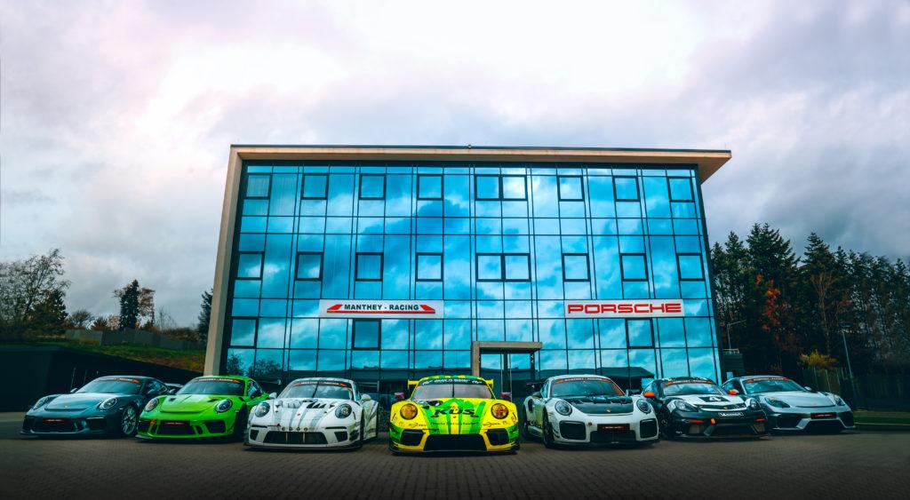 Manthey-Racing: siedziba w Meuspath w Niemczech (fot. Porsche)