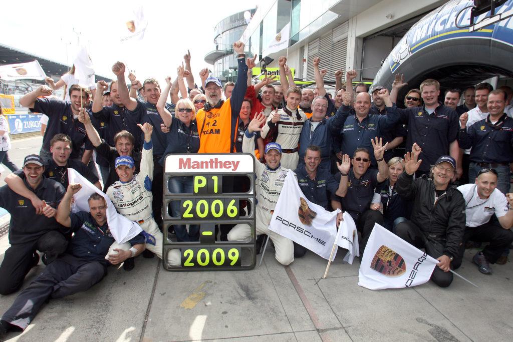 Manthey-Racing: Porsche 997 GT3 RSR, 24h Nürburgring 2009