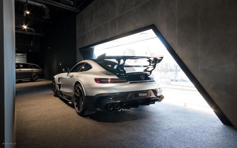 Tył Mercedesa AMG GT Black Series (fot. mat. prasowe)