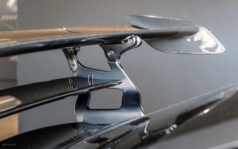 Ultralekki regulowany spoiler w Mercedesie AMG GT Black Series (fot. mat. prasowe)