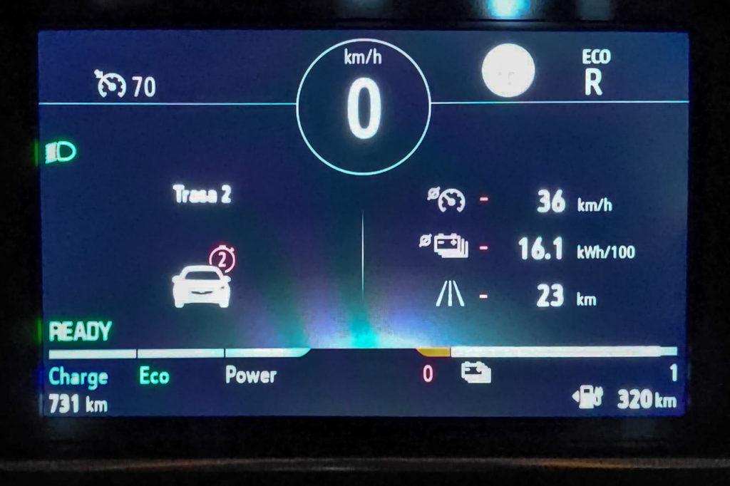 Opel Corsa-e zużycie energii