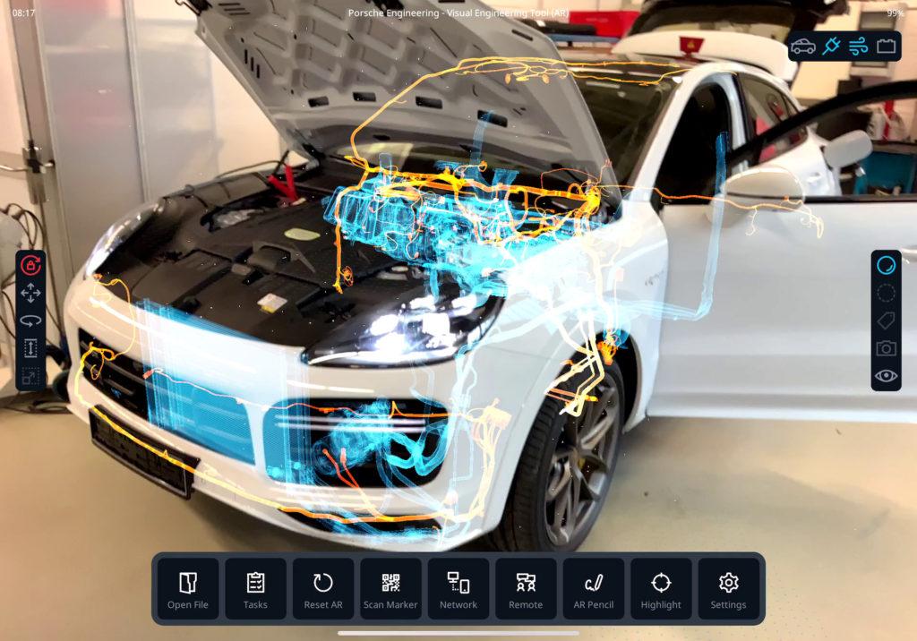 Bardziej niż rzeczywiste - silniki gier komputerowych mogą zostać użyte dla stworzenia rozszerzonej rzeczywistości (fot. Porsche)