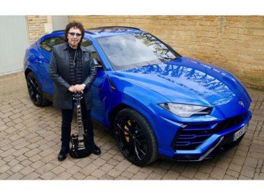 Tony Iommi i Lamborghini Urus (fot. mat. prasowe)