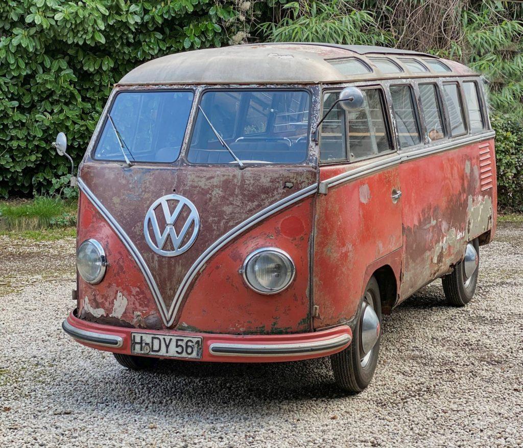 Najstarszy VW T1 Samba (fot. mat. prasowe)