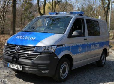 VW Transporter Policja 2021 (fot. mat. prasowe)