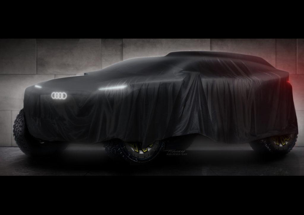 Audi Dakar 2022 (fot. Audi)