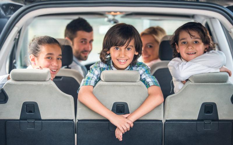 rodzina samochód