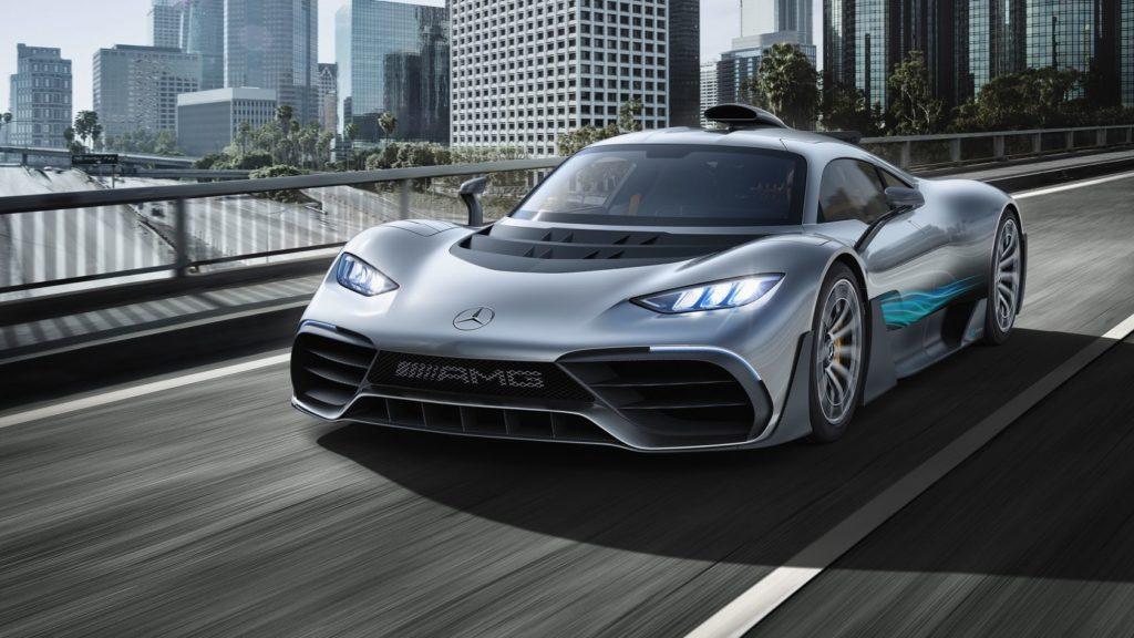 Mercedes-AMG Project 1 One (fot. mat. prasowe)