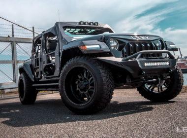 Jeep Wrangler Unlimited tuning Liberty Walk
