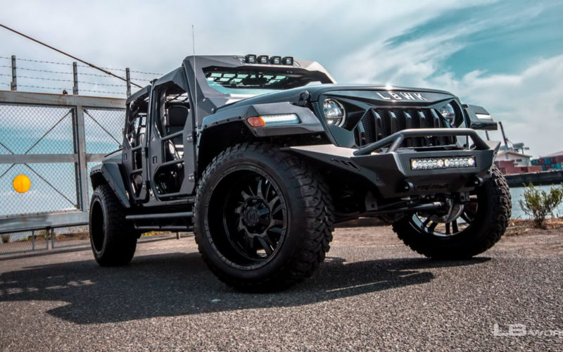 Jeep Wrangler Unlimited tuning Liberty Walk