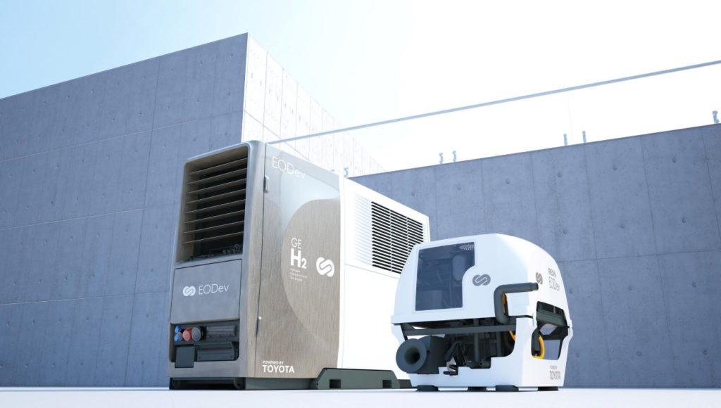 Generatory REXH2 i GEH2 (fot. Toyota)