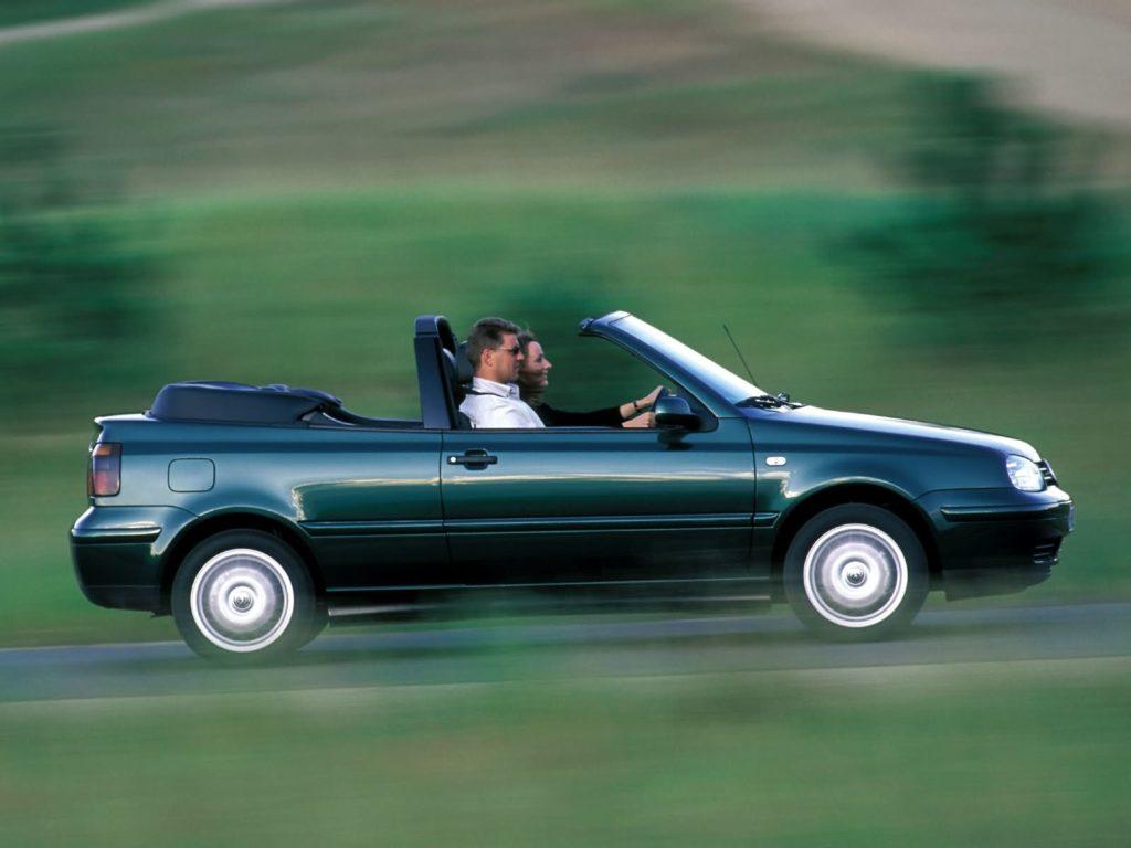 VW Golf 3 Cabrio (fot. mat. prasowe)