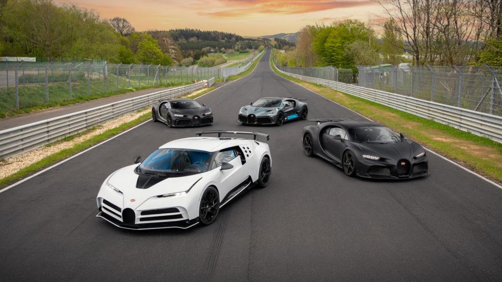 Bugatti na Nürburgringu (fot. Bugatti)