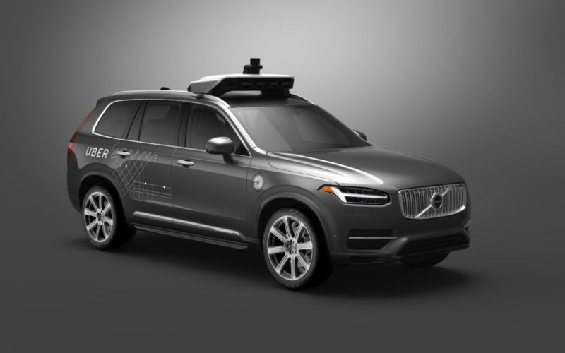 Uber wykorzystał model Volvo XC90