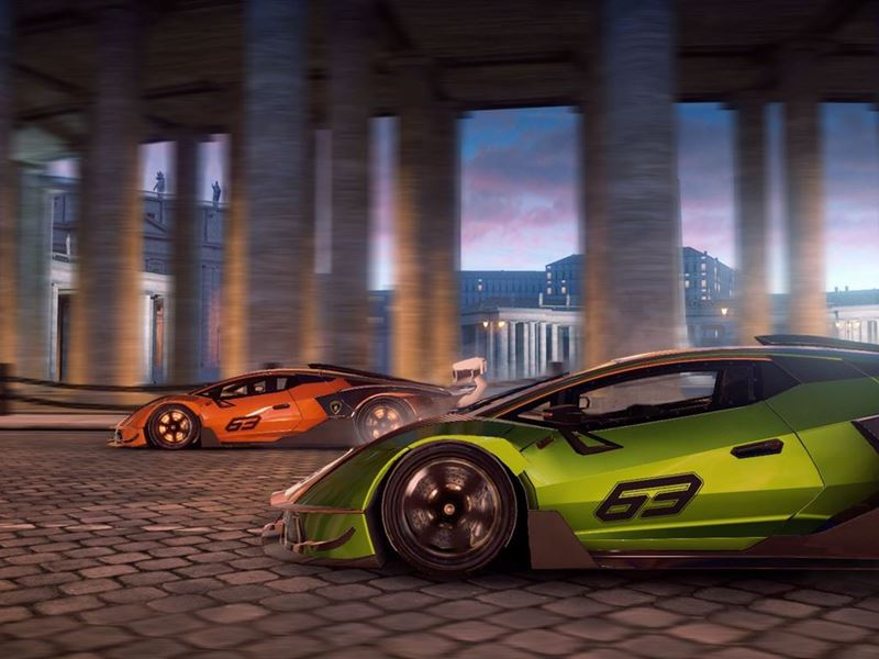 Lamborghini Essenza SCV12 Asphalt 9 (fot. Lamborghini)