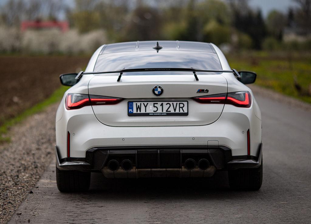 spojler BMW M4 Competition
