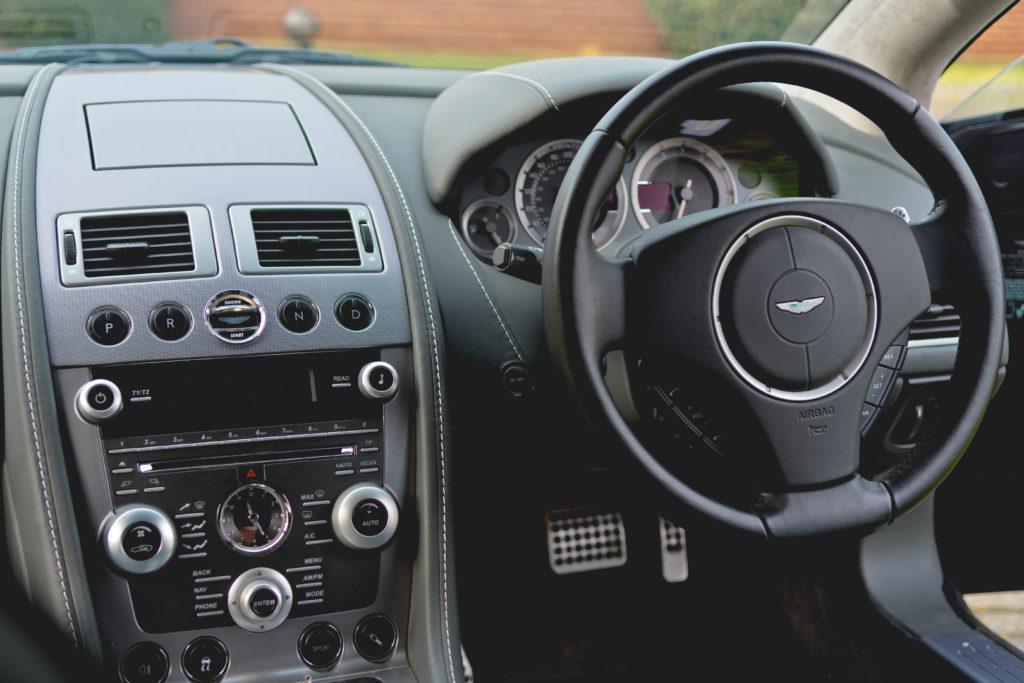 Aston Martin Rapide Wnętrze